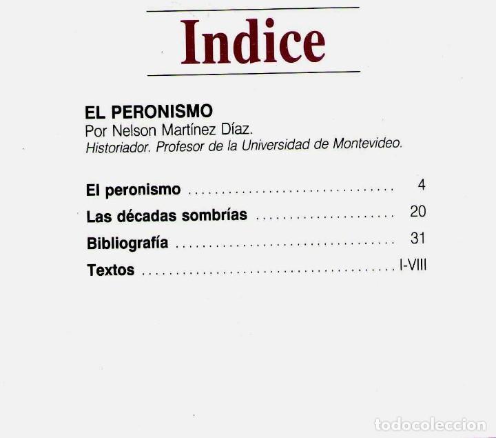 Coleccionismo de Revista Historia 16: CUADERNOS HISTORIA 16 Nº 293 EL PERONISMO - Foto 2 - 71117377