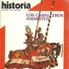 Coleccionismo de Revista Historia 16: HISTORIA 16. Nº 83. MARZO 1983. LOS CABALLEROS ANDANTES. MARX, CIEN AÑOS DESPUÉS, FRANCO, ENCADENADO. Lote 72344183