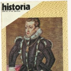 Coleccionismo de Revista Historia 16: HISTORIA 16. Nº 69 ENERO 1982. FELIPE II.TRAGEDIA Y MUERTE DE LINCOLN. LA GUERRA FRIA. Lote 72687451