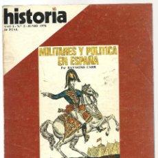 Coleccionismo de Revista Historia 16: HISTORIA 16. Nº 2 JUNIO 1976. MILITARES Y POLÍTICA EN ESPAÑA. CAMINO DE SANTIAGO. REVOLUCIÓN INGLESA. Lote 72687991