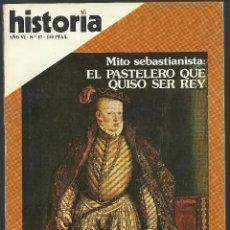 Coleccionismo de Revista Historia 16: HISTORIA 16 Nª 67 NOVIEMBRE 1981. EL MITO SEBASTIANISTA. TURQUÍA DE ATATÜRK. BERNIINI. Lote 72808675