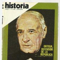 Coleccionismo de Revista Historia 16: HISTORIA 16 Nº 48 ABRIL 1980. EPOPEYA DE GILGAMESH. LA GUERRA DELS SEGADORS. ORTEGA.. Lote 72824895