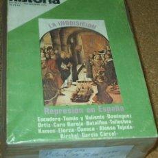 Coleccionismo de Revista Historia 16: HISTORIA 16 EXTRA-LOTE DE 12 NOS. DE LOS PRIMEROS 1976-1,2.3.4.5.7.9.10.11.13.14.17. MUY BUEN ESTADO. Lote 75022951