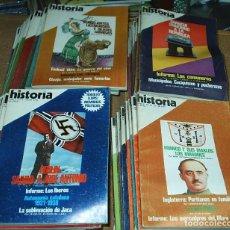 Coleccionismo de Revista Historia 16: HISTORIA 16 - LOTE DE 53 NOS. LOS MAS DIFICILES, VER NÚMEROS - MUY BUEN ESTADO. Lote 75023595