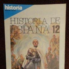 Coleccionismo de Revista Historia 16: HISTORIA 16 , HISTORIA DE ESPAÑA Nº 12 - LA ESPAÑA DE LA CRUZADA ,ECONOMIA - SOCIEDAD - POLITICAS. Lote 79550321