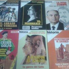Coleccionismo de Revista Historia 16: HISTORIA 16. 140 NÚMEROS. Lote 81290868