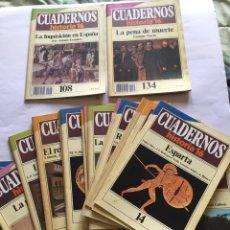 Coleccionismo de Revista Historia 16: HISTORIA 16 CUADERNOS. Lote 81911056