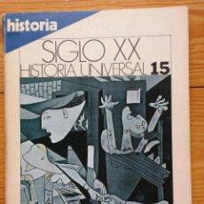 Coleccionismo de Revista Historia 16: REVISTA HISTORIA 16 - SIGLO XX HISTORIA UNIVERSAL Nº 15 - LA CULTURA DE ENTREGUERRAS. Lote 84759524