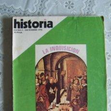 Coleccionismo de Revista Historia 16: HISTORIA 16. EXTRA I - DICIEMBRE 1976. LA INQUISICIÓN. REPRESIÓN EN ESPAÑA.. Lote 85114744