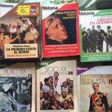 Coleccionismo de Revista Historia 16: HISTORIA 16 HISTORIA ESPECIALES ETC.UNIVERSAL SIGLOXX 83 TOTAL. Lote 85398154