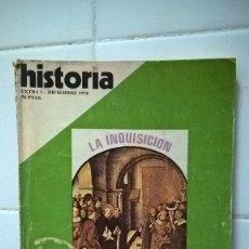 Coleccionismo de Revista Historia 16: REVISTA HISTORIA 16, LA INQUISICION, REPRESION EN ESPAÑA, EXTRA Nº 1 1976. Lote 86096572