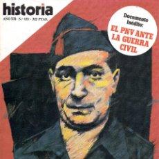 Coleccionismo de Revista Historia 16: VESIV REVISTA HISTORIA 16 Nº132. Lote 103595272