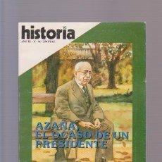 Colecionismo da Revista Historia 16: HISTORIA - Nº 96 / ABRIL 1984. Lote 90075940
