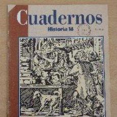 Coleccionismo de Revista Historia 16: CUADERNOS HISTORIA 16. Nº 4. LA VIDA EN EL SIGLO DE ORO (1). RICARDO GARCÍA CÁRCEL. Lote 90969970