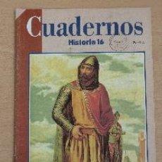 Coleccionismo de Revista Historia 16: CUADERNOS HISTORIA 16. Nº 7. LA CASTILLA DEL CID. JOSÉ-LUIS MARTÍN. Lote 90984655