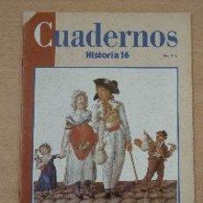 Coleccionismo de Revista Historia 16: CUADERNOS HISTORIA 16. Nº 13. LA REVOLUCIÓN FRANCESA (2). IRENE CASTELLS. Lote 91122715