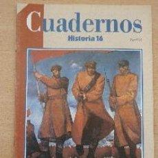 Coleccionismo de Revista Historia 16: CUADERNOS HISTORIA 16. Nº 25. LA REVOLUCIÓN RUSA. MARC FERRO. Lote 91259150