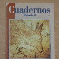 Coleccionismo de Revista Historia 16: CUADERNOS HISTORIA 16. Nº 45. ALTAMIRA. ALFONSO MOURE ROMANILLO. Lote 91314540
