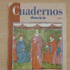 Coleccionismo de Revista Historia 16: CUADERNOS HISTORIA 16. Nº 69. EL CISMA DE AVIÑÓN. VALDEÓN, ÁLVAREZ Y CORTÉS. Lote 91369560