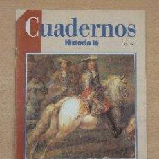 Coleccionismo de Revista Historia 16: CUADERNOS HISTORIA 16. Nº 93. LUIS XIV Y SU ÉPOCA. CARLOS GÓMEZ-CENTURIÓN. Lote 91374655
