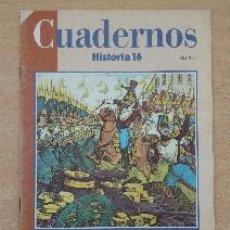 Coleccionismo de Revista Historia 16: CUADERNOS HISTORIA 16. Nº 95. LA EUROPA DE 1848. JULIO GIL PECHARROMÁN. Lote 91374875