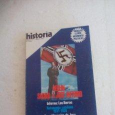 Coleccionismo de Revista Historia 16: REVISTA HISTORIA 16, Nº 1 MAYO 1976 BERLIN: SALVAD A JOSE ANTONIO LOS IBEROS.AUTONOMIA CATALANA.JACA. Lote 92789005
