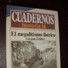 Colecionismo da Revista Historia 16: CUADERNO DE HISTORIA 16 Nº 233 EL MEGALITISMO IBERICO. Lote 92977230