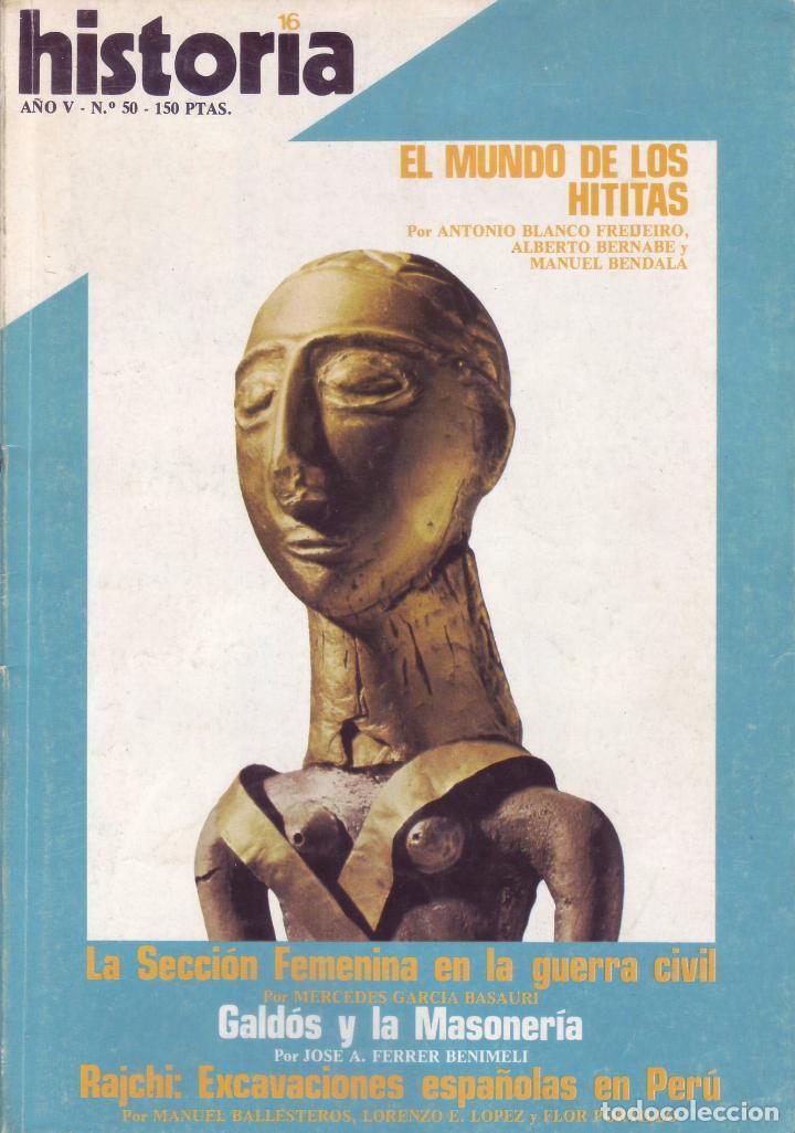 REVISTA HISTORIA 16 - Nº 50 (Coleccionismo - Revistas y Periódicos Modernos (a partir de 1.940) - Revista Historia 16)