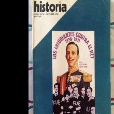 Coleccionismo de Revista Historia 16: HISTORIA16. NÚMERO 6. OCTUBRE 1976. Lote 94947179