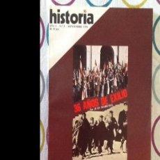 Coleccionismo de Revista Historia 16: HISTORIA16. NÚMERO 5. SEPTIEMBRE 1976. Lote 94947299
