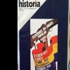 Coleccionismo de Revista Historia 16: HISTORIA16. NÚMERO 10. FEBRERO 1977. Lote 94947695