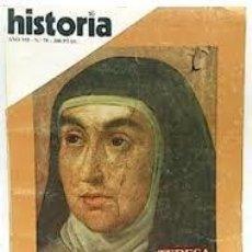 Coleccionismo de Revista Historia 16: HISTORIA 16. AÑO VII Nº 78. TERESA DE JESUS LA SANTA REFORMADORA. Lote 97505159