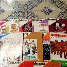Coleccionismo de Revista Historia 16: LOTE DE 11 NÚMEROS DE LA REVISTA HISTORIA 16.. Lote 97739563