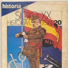 Coleccionismo de Revista Historia 16: SIGLO XX. HISTORIA UNIVERSAL 20.. Lote 102487539