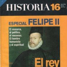 Coleccionismo de Revista Historia 16: REVISTA HISTORIA 16 Nº 270 / EL REY DIOS / MUNDI-2867. Lote 292563718