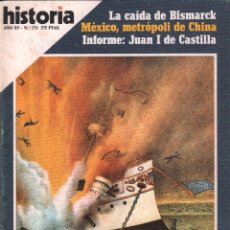 Coleccionismo de Revista Historia 16: REVISTA HISTORIA 16 Nº 176 / FUERON LOS CUBANOS LA TRAGEDIA DEL MAINE / MUNDI-2871. Lote 103567247