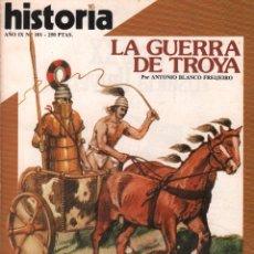 Coleccionismo de Revista Historia 16: REVISTA HISTORIA 16 Nº 101 / LA GUERRA DE TROYA / MUNDI-2872. Lote 103567499