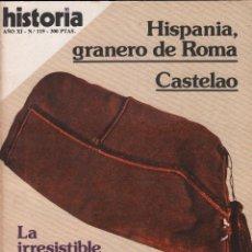 Coleccionismo de Revista Historia 16: REVISTA HISTORIA 16 Nº 119/ EL BUNKER / MUNDI-2875. Lote 103568115