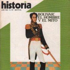 Coleccionismo de Revista Historia 16: REVISTA HISTORIA 16 Nº 87/ LA CAIDA DE MUSSOLINI - EL POLEMICO P. LAS CASAS / MUNDI-2880. Lote 103569347