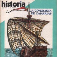 Coleccionismo de Revista Historia 16: REVISTA HISTORIA 16 Nº 85 / LAS MOCEDADES DE ORTEGA / MUNDI-2881. Lote 103569651