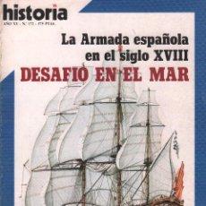 Coleccionismo de Revista Historia 16: REVISTA HISTORIA 16 Nº 172 / DESAFIO EN EL MAR / MUNDI-2882. Lote 103569931
