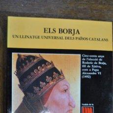 Coleccionismo de Revista Historia 16: REVISTA NADALA FUNDACIÓ JAUME I ANY 1992 ELS BORJA UN LLINATGE UNIVERSAL DELS PAÏSOS CATALANS RPB. Lote 103563079