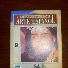 Coleccionismo de Revista Historia 16: CUADERNOS DE ARTE ESPAÑOL. 84 : SALZILLO / GERMÁN RAMALLO ASENSIO. Lote 109254683