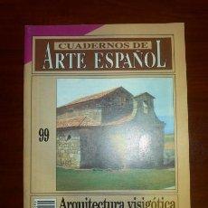 Coleccionismo de Revista Historia 16: CUADERNOS DE ARTE ESPAÑOL. 99 : ARQUITECTURA VISIGÓTICA / GISELA RIPOLL LÓPEZ. Lote 109255623