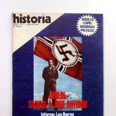 Colecionismo da Revista Historia 16: HISTORIA 16 - AÑO I, NÚM 1 - MAYO 1976 - BERLIN: SALVAD A JOSÉ ANTONIO - LA SUBLEVACIÓN DE JACA. Lote 111587907