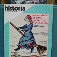 Collectionnisme de Magazine Historia 16: HISTORIA 16, NUM. 80, AÑO VII. INQUISIDORES, BRUJAS, DIABLOS Y AQUELARRES. Lote 112359739