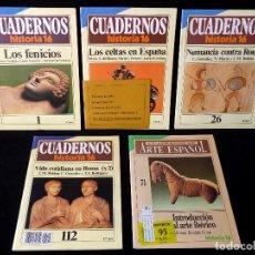 Coleccionismo de Revista Historia 16: LOTE DE 5 CUADERNOS HISTORIA 16. 1985-92. Lote 113242663