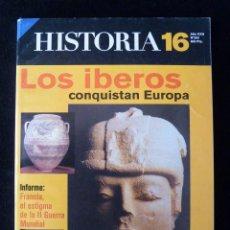 Coleccionismo de Revista Historia 16: HISTORIA 16, Nº 263. LOS ÍBEROS CONQUISTAN EUROPA, 1998. Lote 113242919