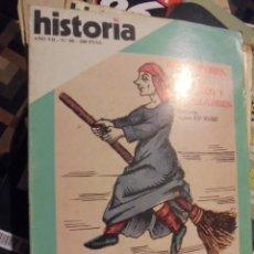 Coleccionismo de Revista Historia 16: HISTORIA 80 - INQUISIDORES BRUJAS DIABLOS Y AQUELARRES - CHICHEN ITZA - 1982 - SIN USAR. Lote 113446679