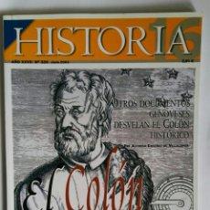 Coleccionismo de Revista Historia 16: REVISTA HISTORIA AÑO XXVII N° 326 JUNIO 2003 EL COLÓN DEFINITIVO. Lote 113593414